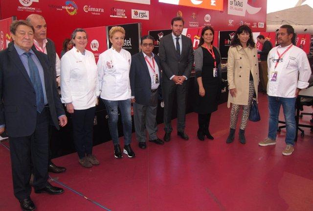 Presentación del Concurso Mundial de Tapas de Valladolid. 7-11-2018