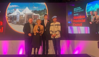 'San Sebastian Region', premiado en los International Travel & Tourism Awards como segundo mejor destino gastronómico
