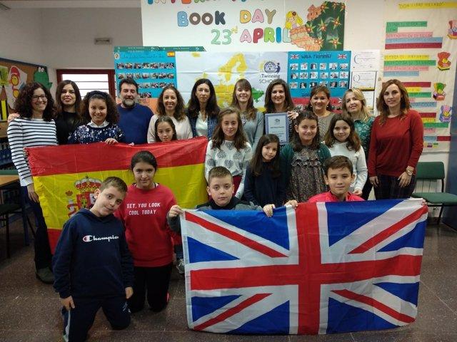 Visita al colegio Gloria Fuertes de Jaén.