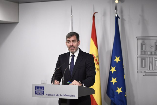 El presidente de Canarias, Fernando Clavijo