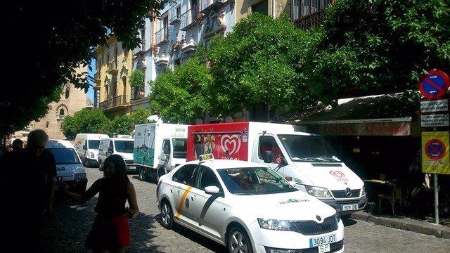 Calle Mateos Gago de Sevilla