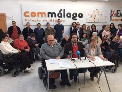 El Colegio de Médicos de Málaga critica el acuerdo entre Salud y sindicatos por el que se paralizaron las movilizaciones