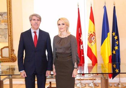 """La Comunidad de Madrid y la región capital de Rumanía tramitan un """"proyecto de hermanamiento"""""""