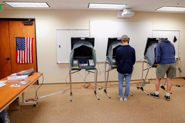 Colegio electoral en San juan Capistrano, California