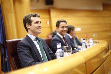 Casado pide a Sánchez que convoque elecciones si no aprueba los Presupuestos como exigía en su día a Rajoy