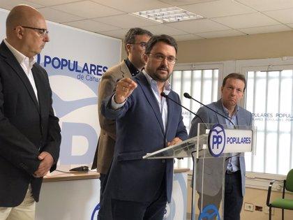 Antona (PP) propone un plan de 14 millones anuales para reducir las listas de espera sanitarias en Canarias