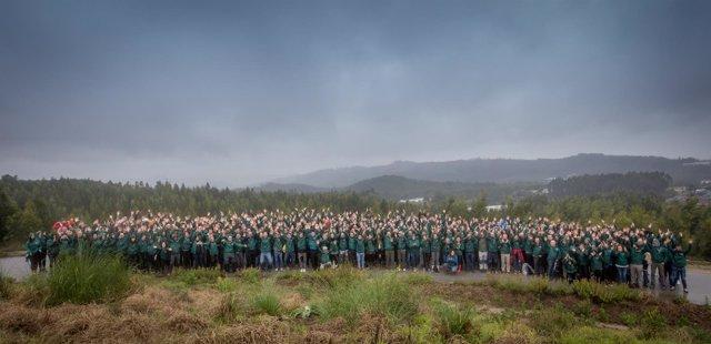 LG Iberia trabaja en la reforestación de Maia (Portugal)