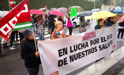 Casi un 70 por ciento de la plantilla de Asisttel secunda la primera jornada de huelga, según CCOO