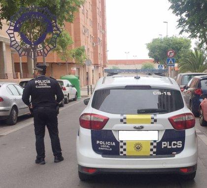 Detenido por agredir a otro con una botella durante una pelea en una calle de Castellón