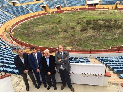 La plaza de toros de Puerto Banús, en Marbella, albergará espectáculos musicales y deportivos a partir de mayo