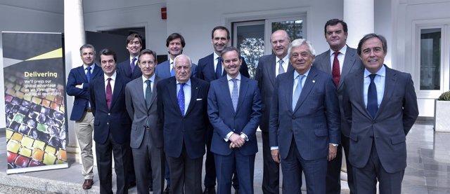 Miembros del jurado de los premios de Ernst & Young