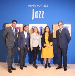 Jazz henri matisse inauguración planchas museo Carmen Thyssen málaga