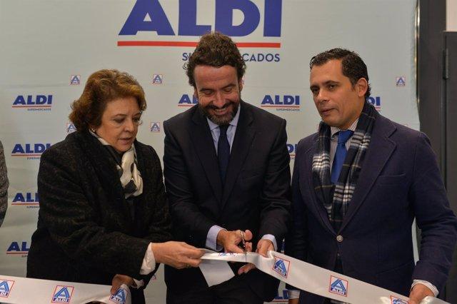 Inauguración de nuevo supermercado ALDI en Sevilla