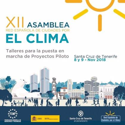Santa Cruz de Tenerife reúne a 312 entidades locales en la asamblea de la Red Española de Ciudades por el Clima