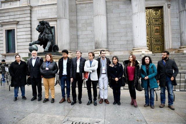 Reunión de las 'ciudades refugio' en Madrid