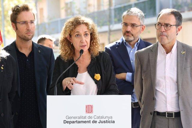 La consellera de Justicia Ester Capella (ARCHIVO)