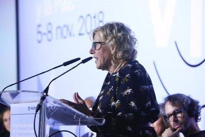Carmena comunica que no acudirá a la comisión de investigación de BiciMAD el 14 de noviembre como pedía Cs