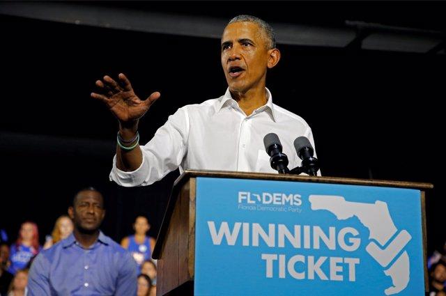 El ex presidente estadounidense Barack Obama