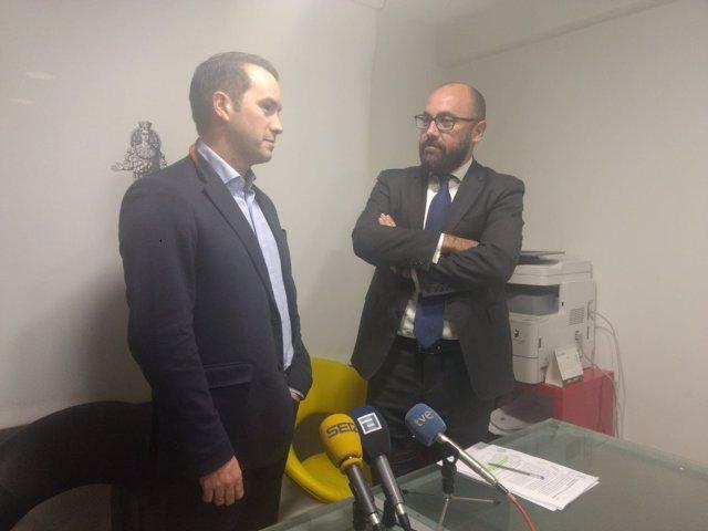 José Ángel Gayol y Alberto Suárez.