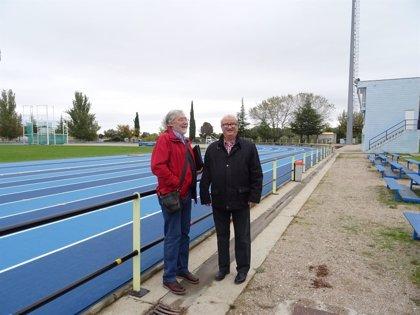 Las pistas de atletismo de la Ciudad Deportiva de Huesca reabren tras su acondicionamiento