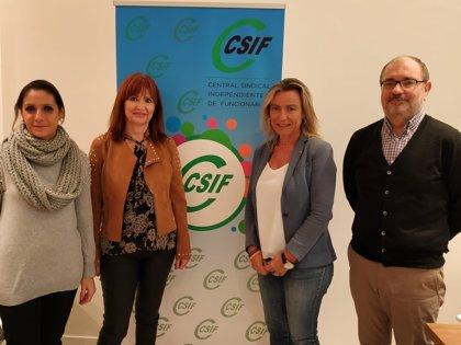 Albás (Cs) aborda con CSIF-Córdoba la situación de los empleados públicos de la provincia