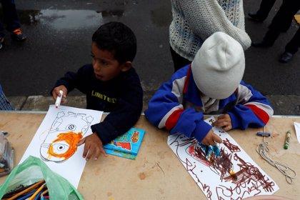 UNICEF alerta sobre el impacto psicológico en los niños de la caravana de migrantes centroamericanos
