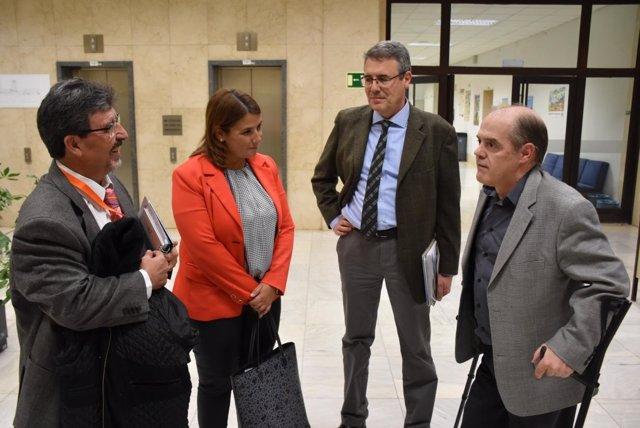 Reunión consejera de Fomento con Ministerio Transición Ecológica