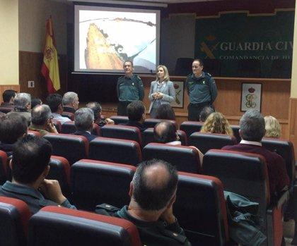 """Subdelegación de Huelva destaca el descenso del 4% de robos en campo por """"la eficacia"""" de equipos ROCA de Guardia Civil"""