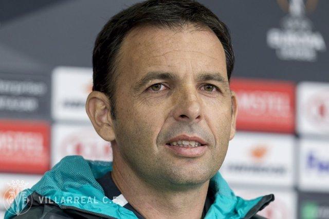 El entrenador del Villarreal CF, Javi Calleja