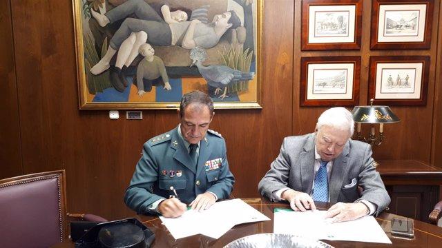 Acuerdo entre la Fundación Caja Rural del Sur y la Guardia Civil.