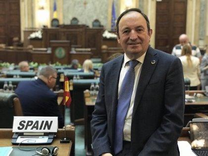 """Pedro Sanz asegura que la dimisión de Cospedal es """"una buena decisión"""" porque """"ha pensado más en el partido que en ella"""""""