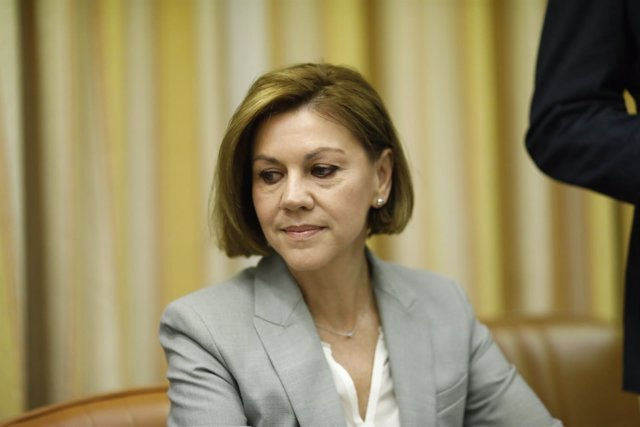 Cospedal comparece en la comisión sobre la presunta financiación ilegal del PP