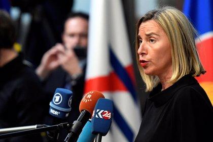 Mogherini pide que África coopere con la Unión Europea para influir en el orden mundial