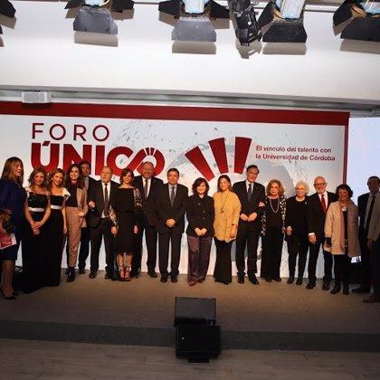 La Universidad de Córdoba reúne a un centenar de prestigiosos cordobeses para impulsar el talento con 'Foro Único'