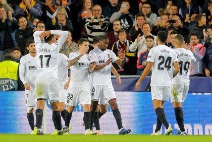 Mina y Soler enderezan la Champions en Valencia