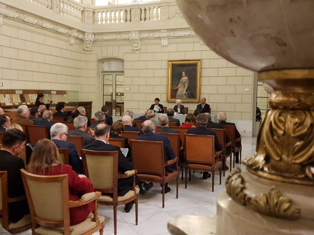 Acto de presentación en la sede del ICAM