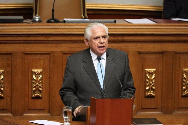 El presidente de la Asamblea Nacional de Venezuela, Omar Barboza