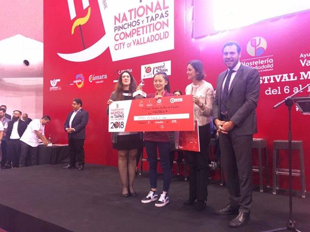 Valladolid.- Entrega del primer premio del Mundial de tapas