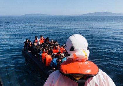Rescatadas un total de 119 personas de tres pateras frente a las costas de Andalucía durante este miércoles