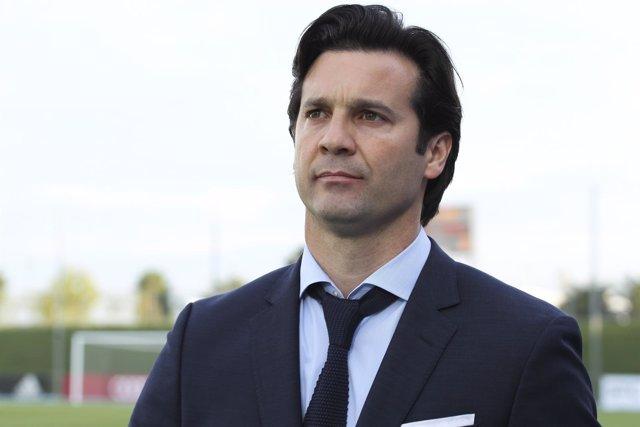 Santiago Hernán Solari, entrenador del Real Madrid