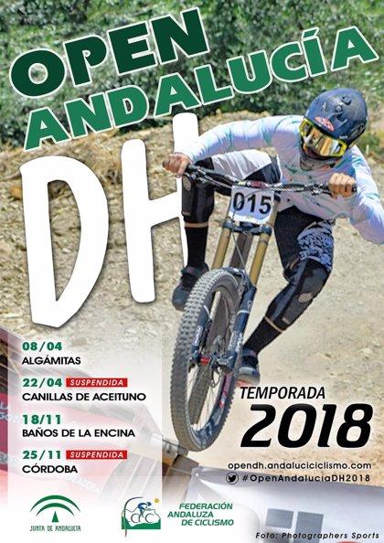 El Open de Andalucía de Descenso 2018 se cerrará en Baños de la Encina (Jaén) el próximo 18 de noviembre