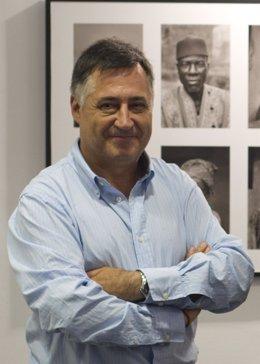 Gervasio Sánchez,  fotoperiodista y reportero de guerra