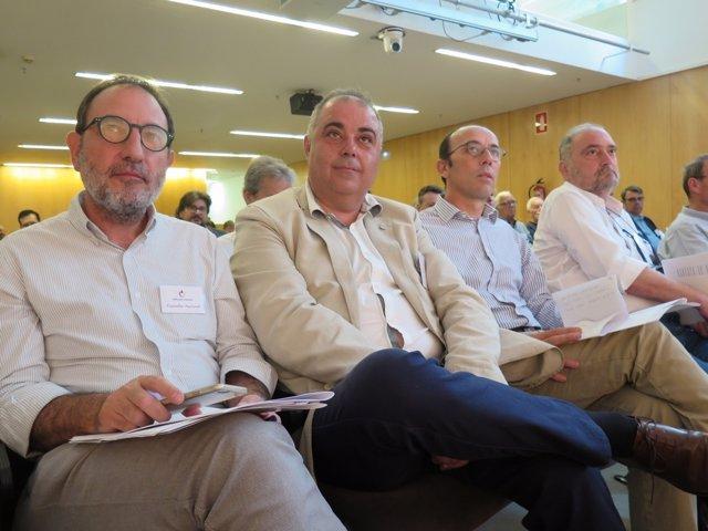 Ramon Espadaler, Jordi Cerezuela, Oriol Molins, Antoni Durán-Sindreu (Units)