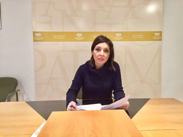 La diputada de Podemos Natalia Rodríguez