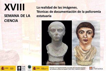 Más de 150 alumnos conocen técnicas de documentación en escultura en la Semana de la Ciencia del Museo Romano de Mérida