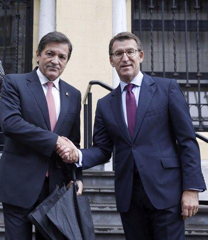 Fernández y Feijóo se reúnen hoy con las ministras de Industria y Transición Ecológica