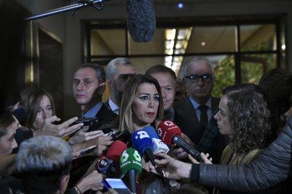 """Susana Díaz sobre el tirador que planeaba matar a Sánchez: """"Es fruto del encanallamiento de la vida pública"""""""