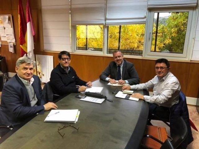 Reunión del director de Vivienda con el edil de Toledo