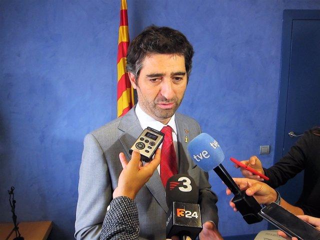 Jordi Puigneró, conseller de la Generalitat de Catalunya (ARCHIVO)