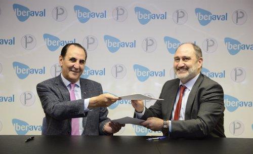 José Rolando Álvarez  (izda) y Javier Cantera